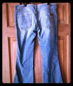 7 for all mankind size 27 jeans denim used